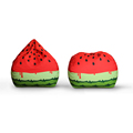 simple modern design bean bag stuffable watermelon printed bags