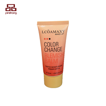 Free sample eco-friendly cosmetic bb cream plastic soft tube packaging