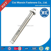 China fastener manufaturer Stainless steel ground screw anchor for fence