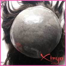 Custom 100% Human Hair System for Men Toupee Hairpiece