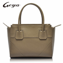 GUODI Genuine Leather Bag Lady Hand Bag Women Leather Bags