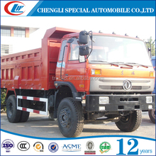 chinese supplier big sand dump truck 290hp 9m3 10m3 dump truck dongfeng 4x2 tipper truck with perfect performance for Africa