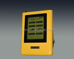 15inch banking hospital consulate telecom wireless queuing management system electronic ticket dispenser machine