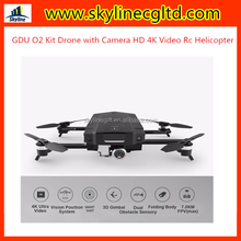 GDU O2 Kit Drone Completo Com Camera Drone Quadrocopter with HD Camera 4K Video Rc Helicopter Live View GPS and GLONASS System
