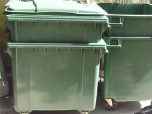 1100 Liters and 660 Liters Mobile Trash/Garbage Bin