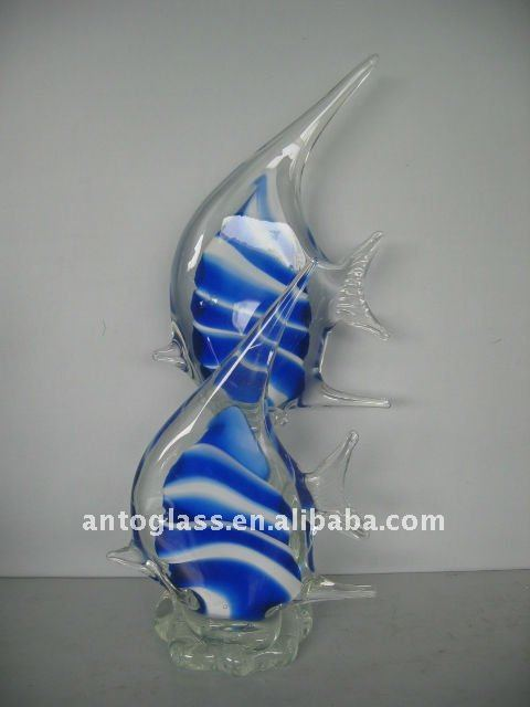 glass fish home decoration