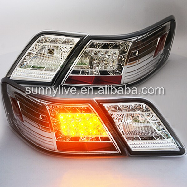 For Toyota Camry LED Tail Lights rear light 2007-2009 year Chrome Housing SN type