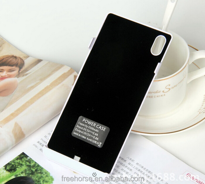 Power case for Sony z1 backup battery case power case for sony xperia 4500mah