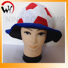 world cup 2014 Chile fans football hat