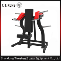 TZ-6061 Hot Sale Body Build Free Weight Strength Machine / Shoulder Press for wholesale