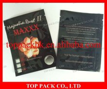 2012 newest popular laminated foil ziplock bag 3g