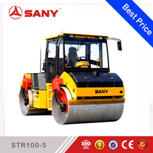 SANY STR100-5 STR Series 10 ton Double Drum Vibratory Small Tandem Roller Road Roller Conveyor Drum Roller