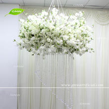 GNW FLWD171001-01 Crystal Bead Garland Hanging Flowers For Wedding Stage Decor