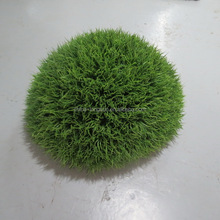 LSWS15112550 Manufacturer Customize garden decorative PLASTIC artificial grass leaves boxwood topiary ball