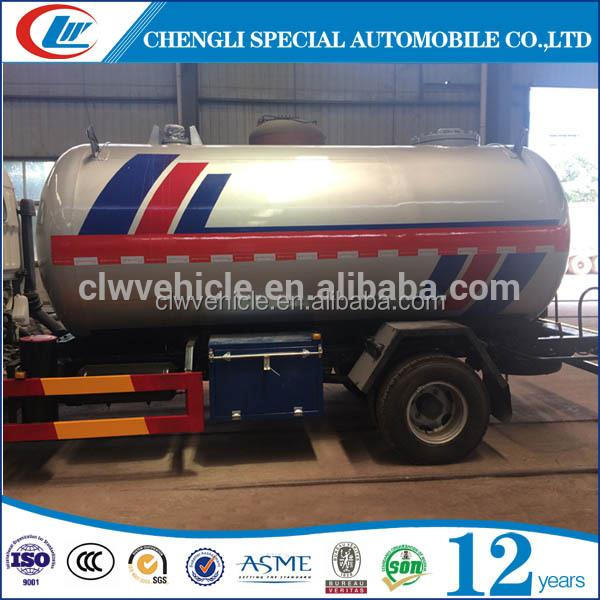 Brand new 5CBM LPG Tank Truck LPG Gas Tank Truck with high quality