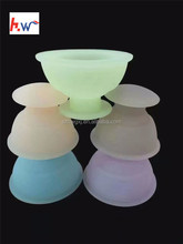 High quality Green Transparent self-treatment silicone cupping set/Silicone cupping/ Massage cupping cup