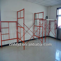 Kuwait Frame Mobile Scaffolding System Part for building construction materials