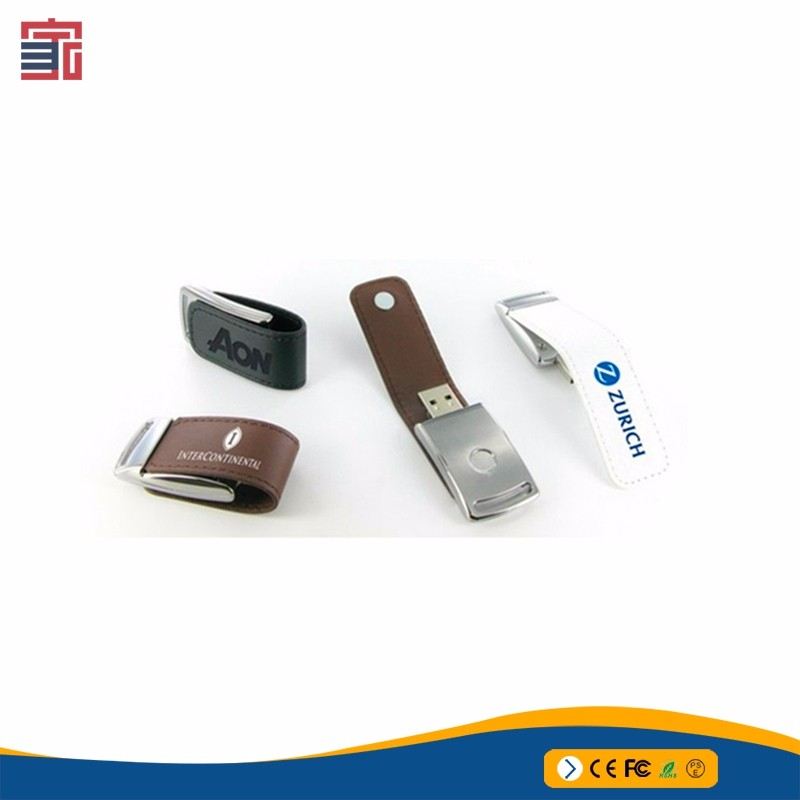 New arrival special leather usb flash drive 2gb 4gb 8gb 16gb 32gb leather usb stick wholesale