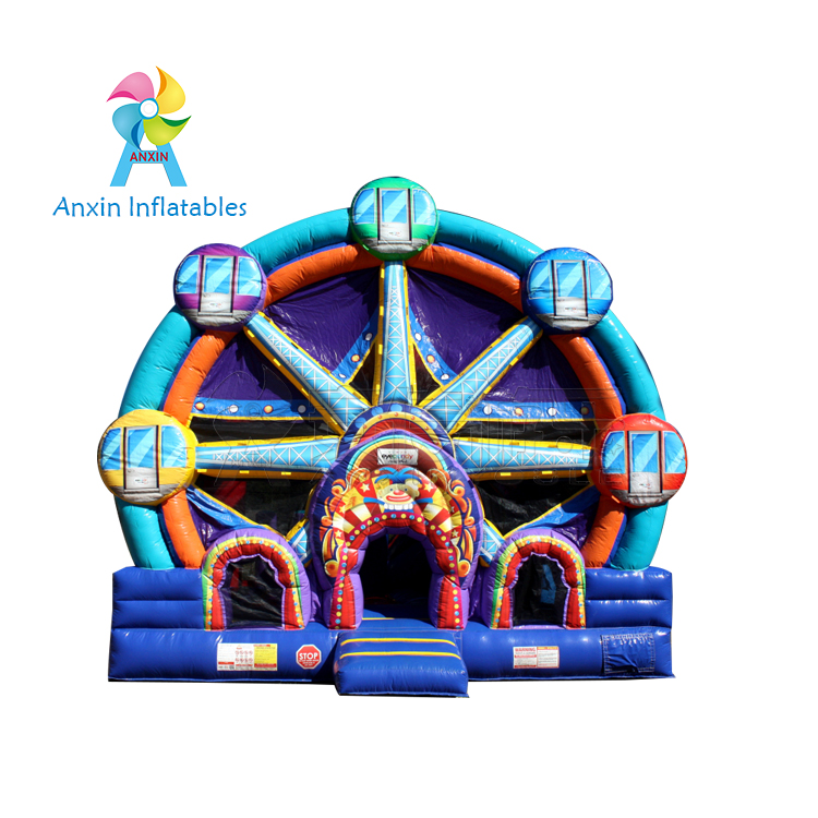 5 in 1 Ferris Wheel inflatable Bouncers Comb/inflatable ferrie wheel bounce house for sale