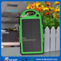 Skywords/OEM ODM Shenzhen China 5000mAh Solar Power Battery Charger YD-T011