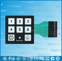 Custom Screen Printing Punching Membrane Switch With FCB