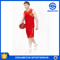 Custom Printing Polyester Basketball Jersey Uniform Design