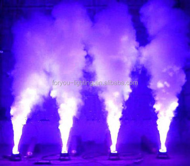Multi-angle Pro Stage Disco DJ Wedding Special Effect Spray Blaster DMX512 12x3W RGB 3IN1 LED CO2 Jet Cannon Machine