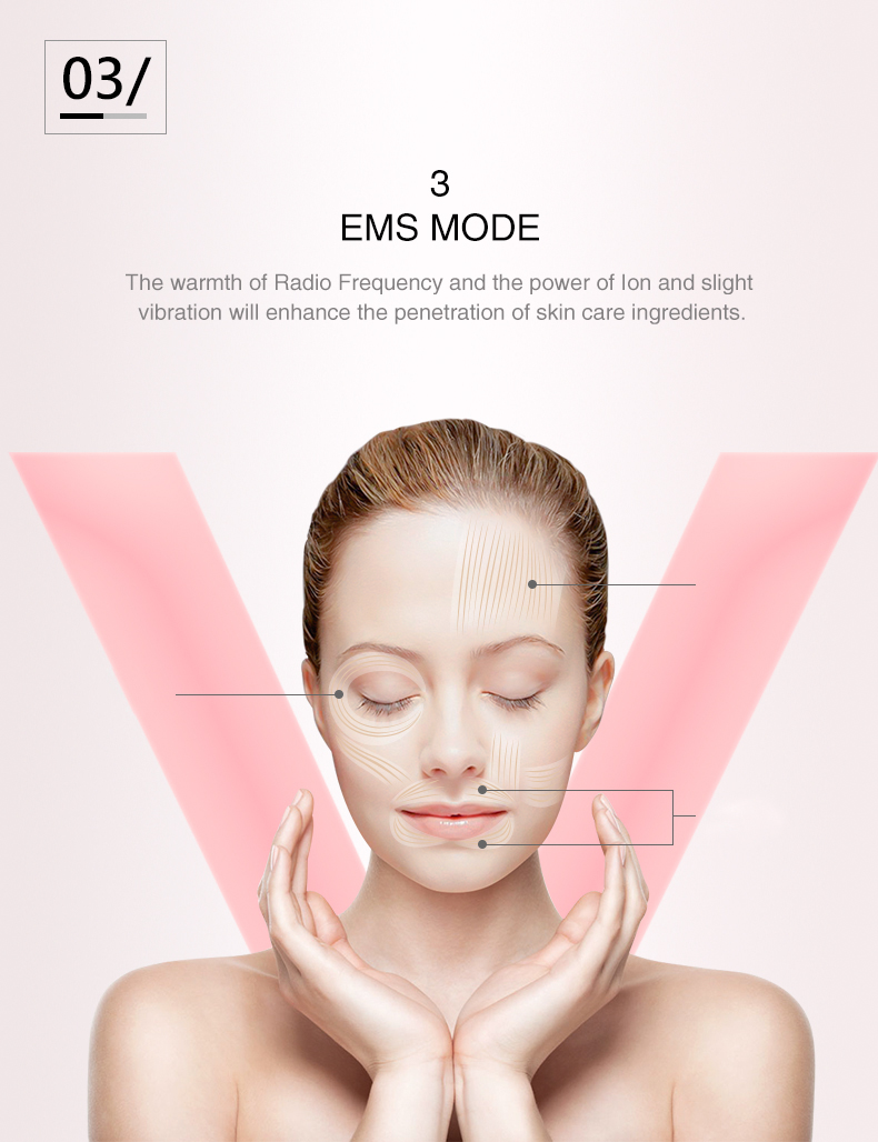 multi-function beauty equipment rf beauty euipment red light therapy ems muscle stimulator vibration beauty personal care oem