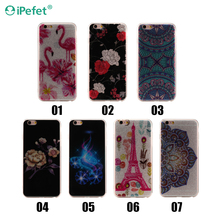Mandala design flower IMD printing PC phone case cover case for iPhone 7