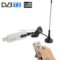 China Wholesale cheap USB 2.0 DVB-T2 Stick with Remote Control & FM Radio Function, Support MPEG-4 H.264 (AVC) & MPEG 2 Encoding