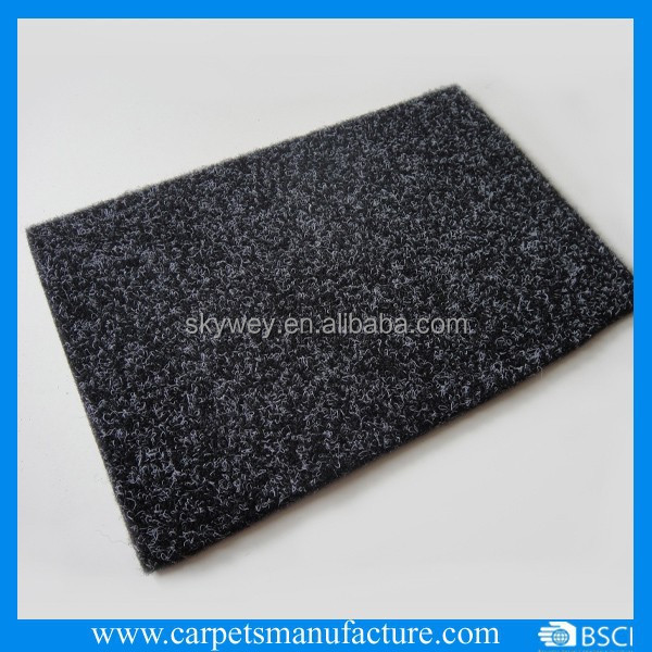 Anthracite Black Outdoor Carpet with TPE backing