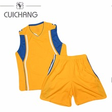 Factory Supply Sublimation Printing Polyester basketball jersey uniform