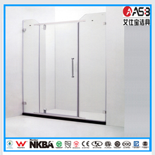 Hangzhou 8mm Tempered Glass shower enclosure custom made