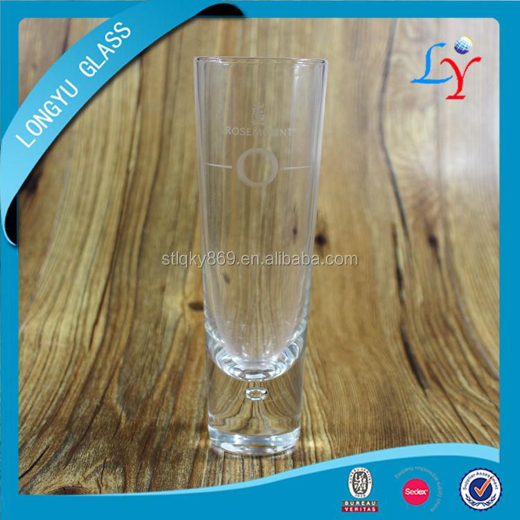 brand name glassware 300ml lady beer glass cup heavy thick bottom glass beer for drinking
