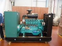 water gas hho gas ( hydrogen H2 and carbon monoxide CO ) Powered Electric Generato H2 fuel engine and electricicity genset