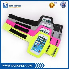 mobile phone waterproof sweatproof dual lycra reflect light sport armbands