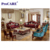 New Designs Living Room Sofa luxury 1+2+3 leather fabric sofa set