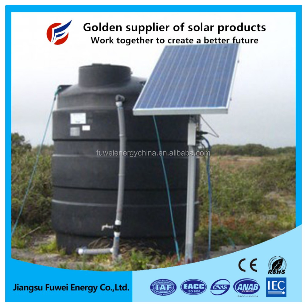 Low price mini monocrystalline solar panel 20W 25W 30W for solar powered water purifier