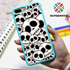 2016 new luxury fashion punk style skull pc phone case for iphone