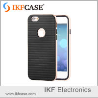 Fast delivery and cheaper price mobile phone case with baking varnish frame for iphone 6S Plus