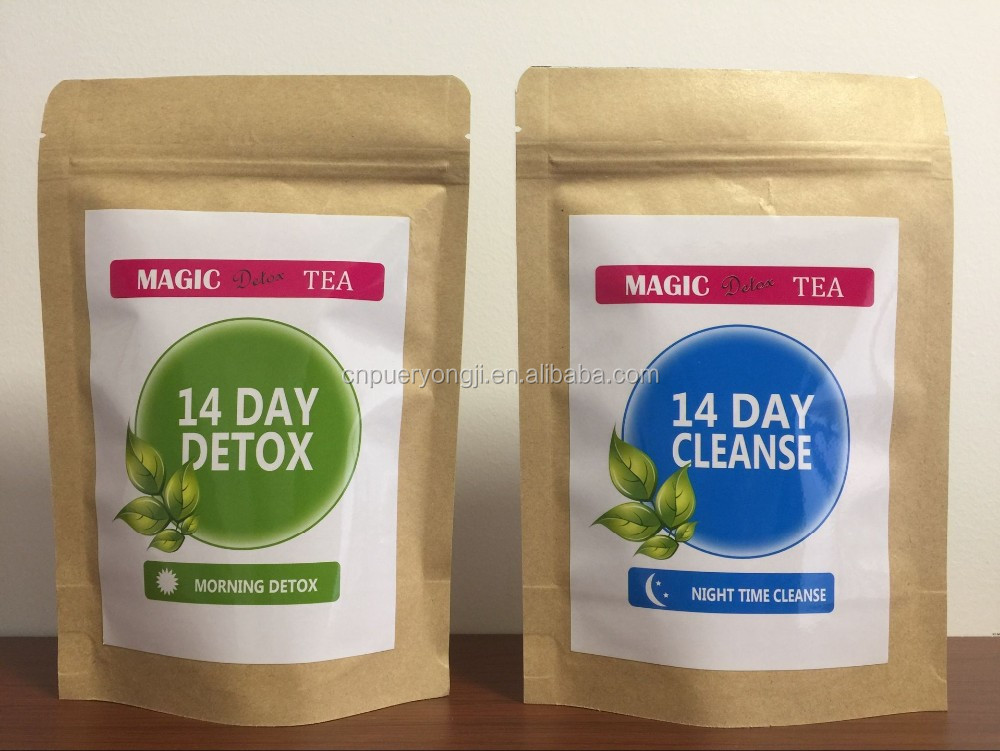 Super Detox Skinny Trim Slimming Fit Tea Weight Loss Belly Fat Burn Colon Cleanse