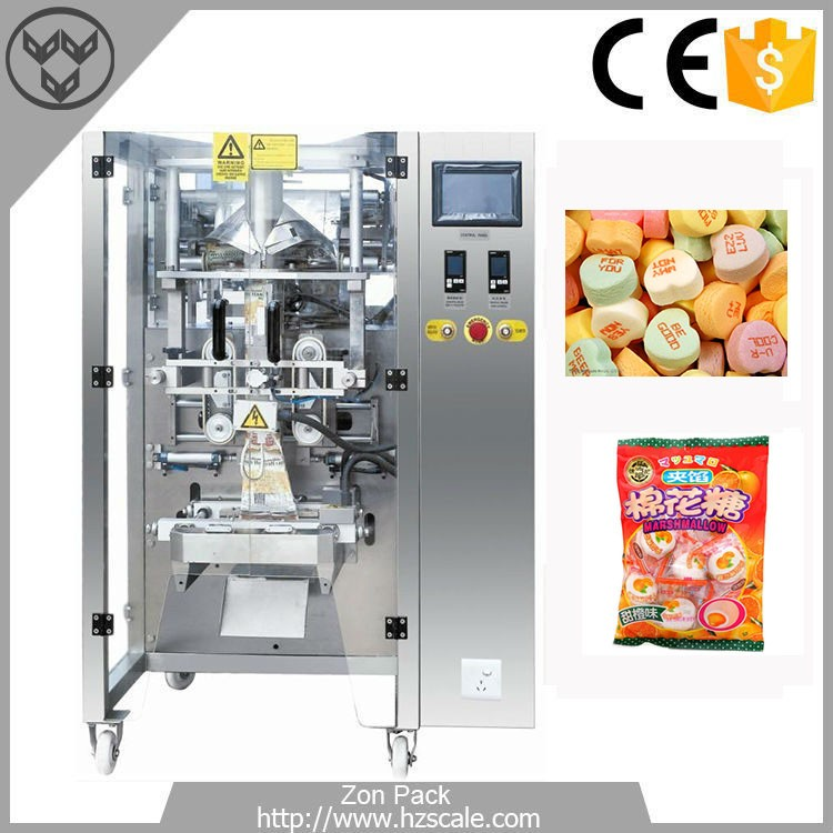 Automatic different kinds of candy packaging machine