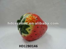 Ceramic strawberry shape Napkin holder,Ceramic Napkin holder