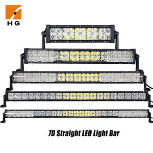 Waterproof drl 6000K 7D led light bar 4x4 60w led light bar for trucks,atvs,auto parts
