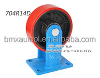 Super Heavy Duty Steel Core Super PU Tread Rigid Wheel