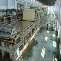 3200mm rice straw/ bagasse/ bamboo pulp corrugated box paper machine,carton recycled paper making machine