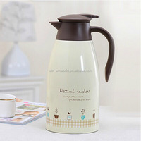 Colored Double Wall Family Drinkware Insulated Stainless Steel Personalized Coffee Pot 1.5L