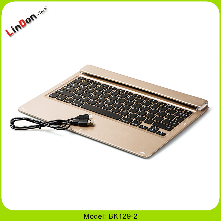 For iPad Pro With Bluetooth Keyboard Swivel Stand Tablet PC Case Wireless Keyboard