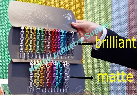 Wholesale Decorative Color Aluminum Hook Link Chain