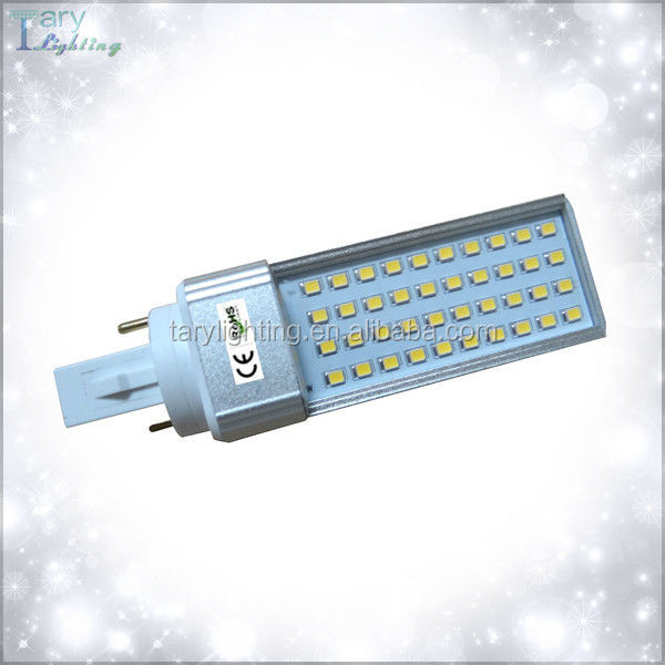 factory price high quality 8w G24 led pl light with 2 years warranty